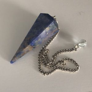 Lapis Pendulum, Healing Gemstone, Crystals